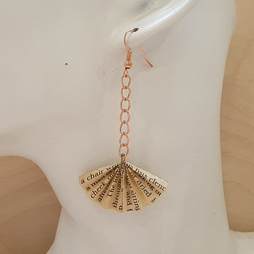 Agatha Christie drop earrings