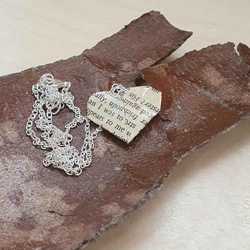 Children's favourites heart pendant