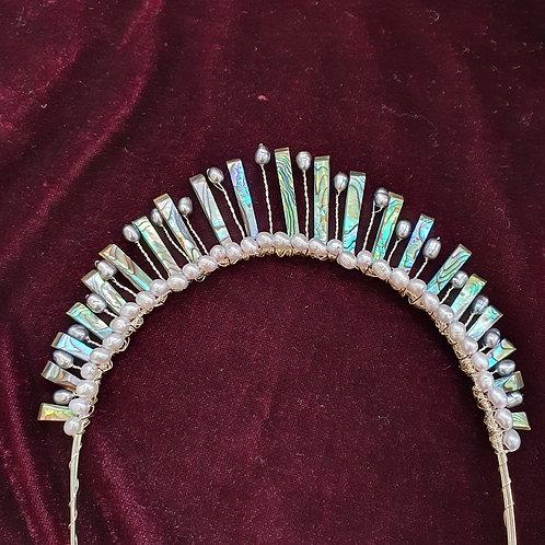 Mermaid bridal tiara