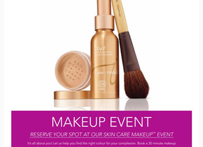One-on-one makeover with Jane Iredale