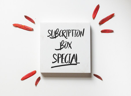 NEW Photography Package for Subscription Boxes
