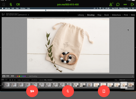 Remote photoshoots: now with screen share and online chat