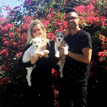 Wallie & Coco's proud new family