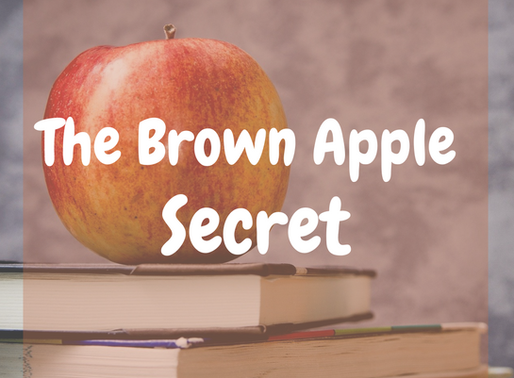 Brown Apple Secret- How to Keep  Apples From Browning-Science Project on Apple Browning.