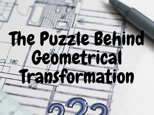 The Peculiar Puzzle of Geometrical Transformation-Insights into Transformation Geometry