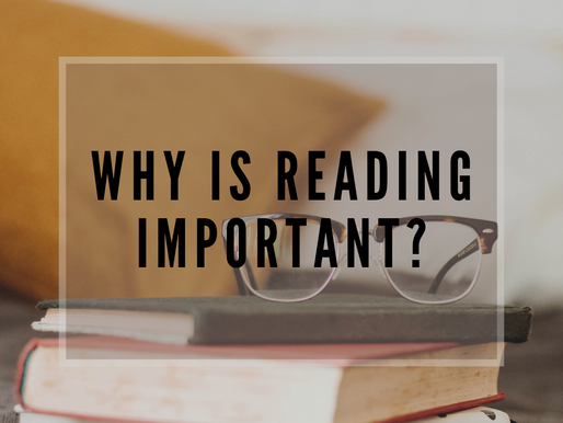 Why is Reading Important? Fall in Love with Books