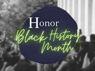TWO LEADERSHIP THOUGHTS FOR FEBRUARY: HONOR BLACK HISTORY • MANAGING CONFLICT