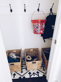 "COAT CLOSET/""MUD ROOM"" DIY"