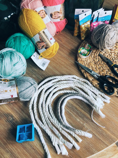 DIY ROPE RAINBOW: MEANINGFUL NURSERY DECOR