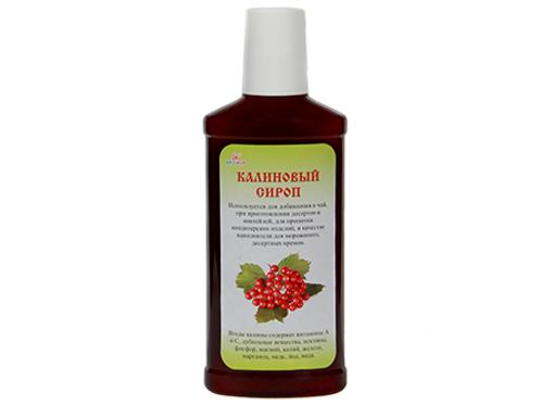Guelder rose syrup