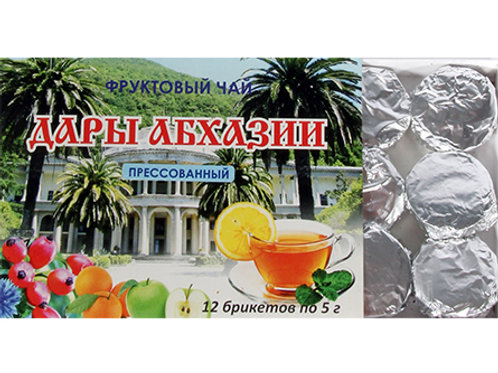 Gifts of Abkhazia, Tea and citrus mix