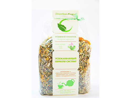 Herbal composition sedative