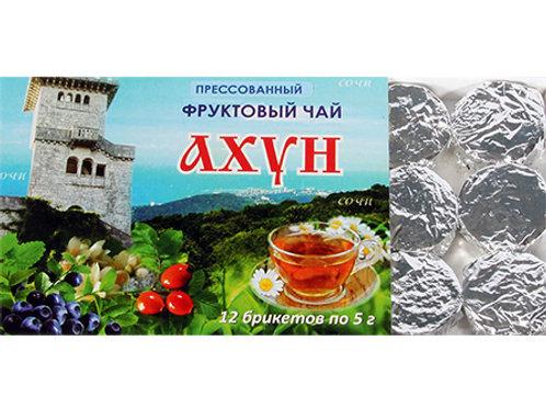 Tea and fruits mix