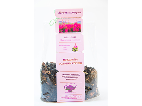 "Willow-herb ""Male Power"" with golden root"