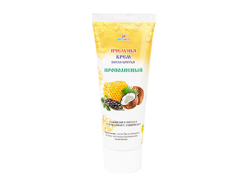 After shave cream unisex with Propolis
