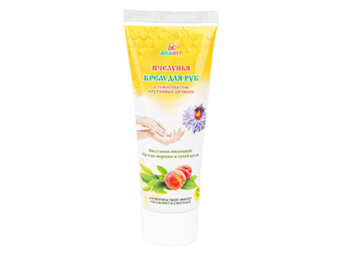 Hand cream with drone brood homogenate and Propolis
