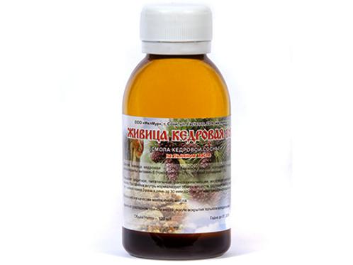 Cedar gum soln. with Linseed oil