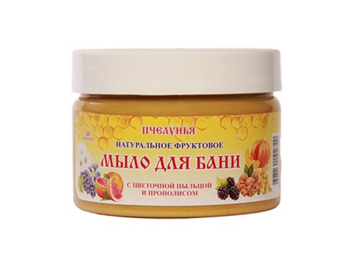Natural fruit soap for Sauna