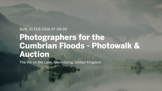 Photographers for the Cumbrian Floods