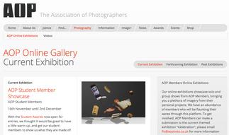 Edinburgh College BA student Paloma Fernandez has four images selected for the recent AOP Student Me