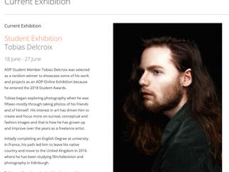 Edinburgh College student Tobias Delcroix AOP Spotlight