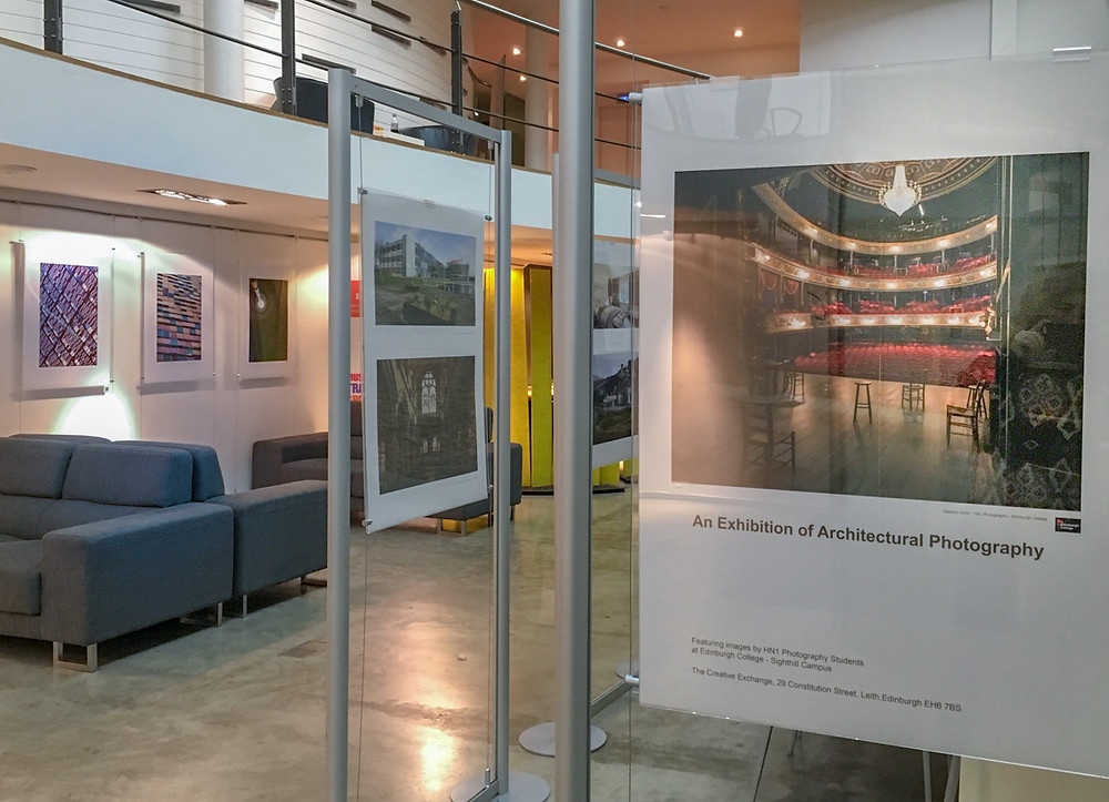 interior image of exhibition