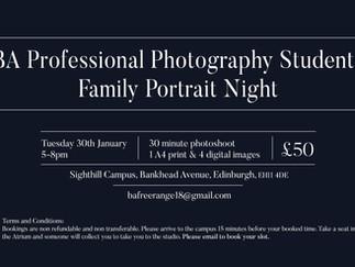 Family Portrait Night