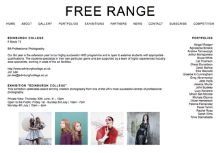 Free Range Shows - Edinburgh College