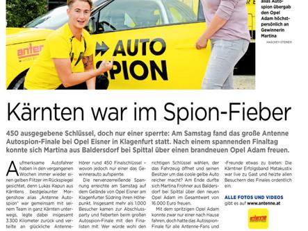 Erfolgreiches Radio-Antenne Gewinnspiel wurde von unserem Notarsubstitut Mag. Klaus Pirker begleitet