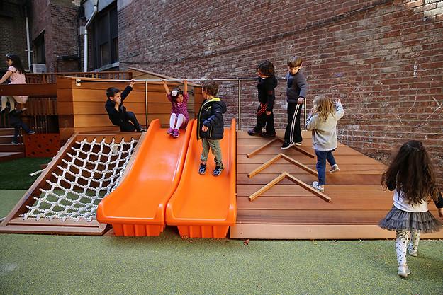 Brotherhood Preschool Playground