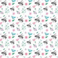 Honeybee pattern