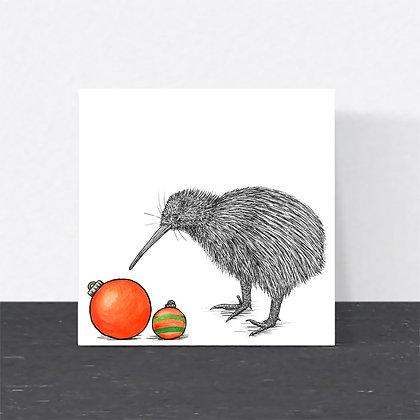 Kiwi Christmas card