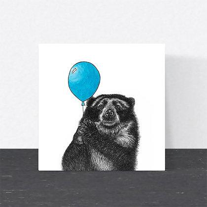 Andean bear card