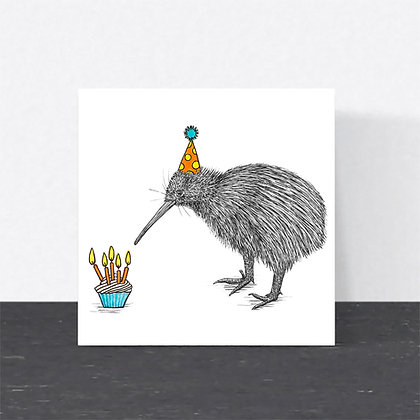 Kiwi Birthday card
