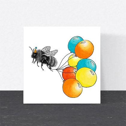 Bumblebee Birthday card