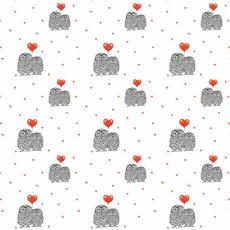 Love owls pattern