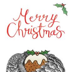 Christmas pangolin tag