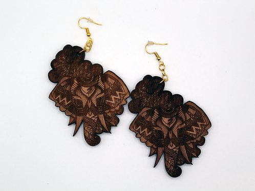 Elephant Tribal Earrings