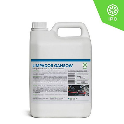 LIMPADOR GANSOW - Detergente para lavadoras de piso - 5 litros