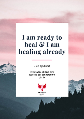 Självläkningsprogram 'I am ready to heal & I am healing already'