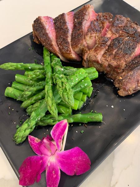 Grilled Grassfed Steak