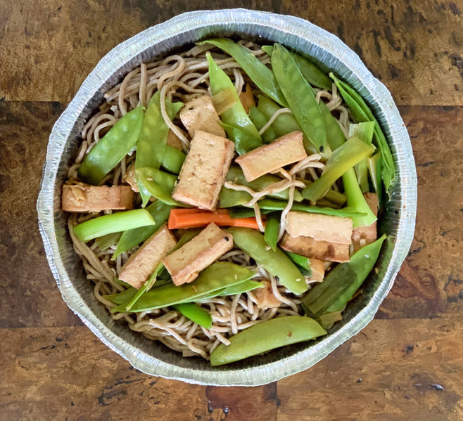 Long Life Noodles with Tofu
