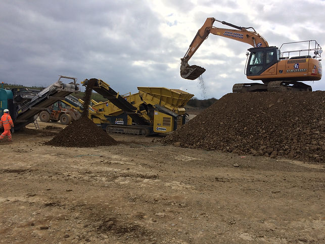 Crusher and Screner NVQ Assessment, Devon