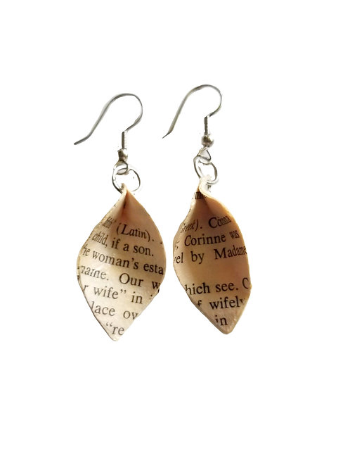 Life Feather Earrings
