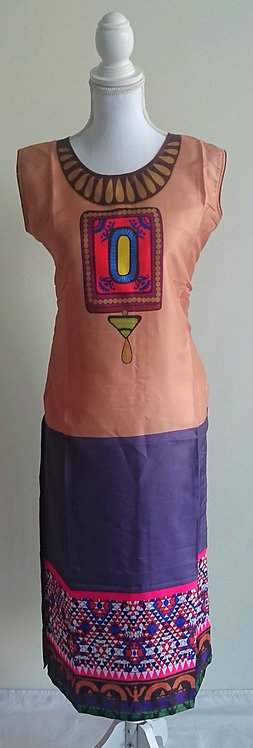Beautiful digital design long kurti