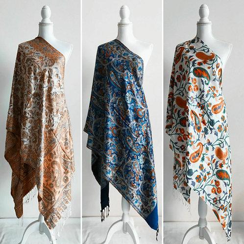 Beautiful  100% viscose shawls assorted designs