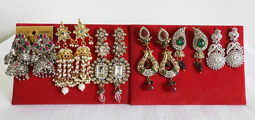 Assorted large earrings from $24.95