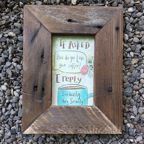 Reclaimed Wood Picture Frames
