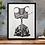 Thumbnail: Framed Illustrations DIN A3