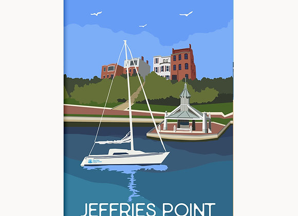 "EastieLove Jeffries Point Poster 11"" X17"""